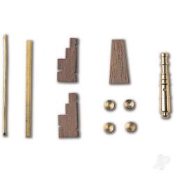 Conjunto de 2 Cañones Cureña 28 X 4,5mm.  Marca Constructo. Ref: 80091.