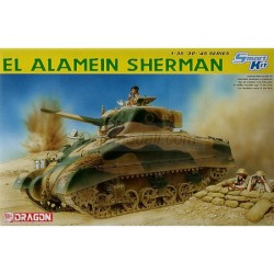 Carro de combate, El Alamein Sherman. Escala 1:35. Marca Dragon. Ref: 6447.