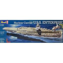 Portaviones nuclear USS Enterprise. Escala: 1:720. Marca: Revell. Ref: 05046.