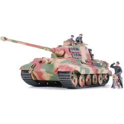 King tiger alemán, en la batalla de las ardenas. Escala 1:35. Marca Tamiya. Ref: 35252.