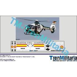 Calcas del helicóptero BC-105, Guardia civil. Escala 1:35. Marca Trenmilitaria. Ref: 000_4619.