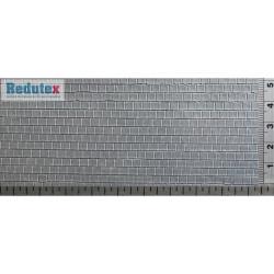 Cubierta de pizarra cuadrada, Ref: 043PC111, acabado gris oscuro, Marca Redutex.