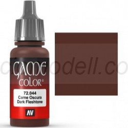 Acrilico Game Color, Carne oscura. Bote 17 ml. Marca Vallejo. Ref: 72.044.