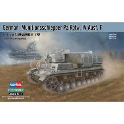 Alemán Munitionsschlepper Pz.Kpfw.IV Ausf.F. Escala 1:72. Marca Hobby Boss. Ref: 82908.