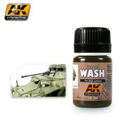 Lavado para vehículos Dak. Bote de 35 ml. Marca AK Interactive. Ref: AK066.