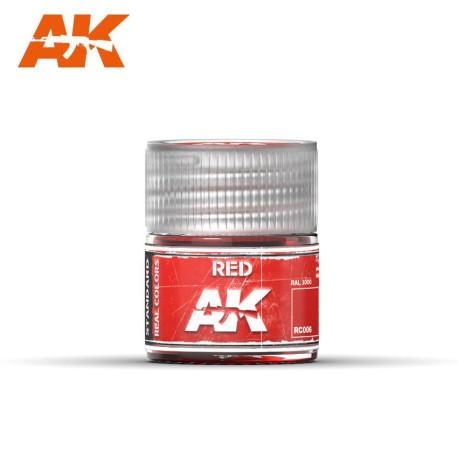 Rojo. Cantidad 10 ml. Marca AK Interactive. Ref: RC006.