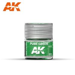 Verde puro. Cantidad 10 ml. Marca AK Interactive. Ref: RC012.