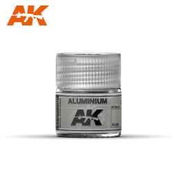 Aluminio, metálico. Cantidad 10 ml. Marca AK Interactive. Ref: RC020.