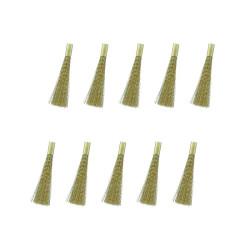 10 Recambios de latón para lápiz ( 4 mm ).  Marca Modelcraft. Ref: PBU1020/2/10.