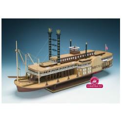 Barco de vapor Robert E. Lee, 1866. Escala 1:48. Marca Constructo. Ref: 80840.