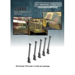 Sensores de proximidad para vehículos alemanes WWII. Escala 1:35. Marca FCmodeltrend. Ref: 35488.