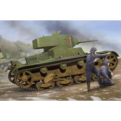 Soviet T-26 Light Infantry Tank Mod.1933. Escala 1:35. Marca Hobby Boss. Ref: 82495.