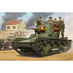 Soviet T-26 Light Infantry Tank Mod.1935. Escala 1:35. Marca Hobby Boss. Ref: 82496.