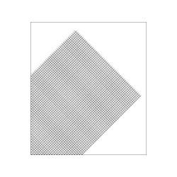 Plancha de Rejilla de PVC en cuadro, Gris. Dimensiones 185 x 290 mm, 0.32 mm . Marca Maquett. Ref: 611-01.