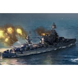 Acorazado USS Texas BB-35. Escala: 1:700. Marca: Trumpeter. Ref: 06712.