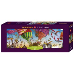 Ballooning, JeanJacques Loup. Puzzle horizontal. Marca Heye. Ref: 29756.
