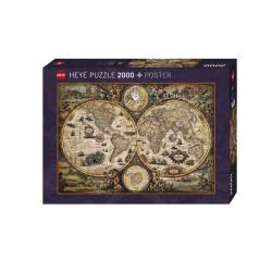 Vintage World, Rajko Zigic. Puzzle horizontal, 2000 pz. Marca Heye. Ref: 29666.