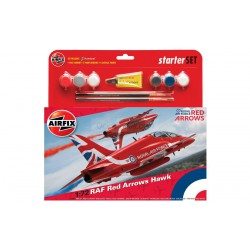 "Set Avión Acrobático ""RED ARROWS HAWK"" 2015. Escala 1:72. Marca Airfix. Ref: A55202B."