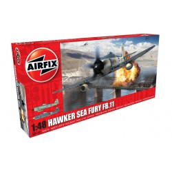 Hawker Sea Fury FB.II. Escala 1:72. Marca Airfix. Ref: A06105.