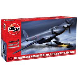 De Havilland Mosquito MkII/VI/XVIII. Escala 1:72. Marca Airfix. Ref: A03019.