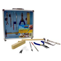 Conjunto de herramientas, 12pcs. Marca Modelcraft. Ref: PTK1012.