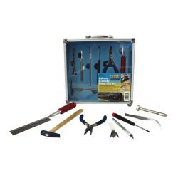 Conjunto de herramientas, 1 pcs. Marca Modelcraft. Ref: PTK1013.