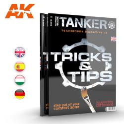 Revista Tanker 10. Trucos y consejos, Tricks & tips. Marca AK Interactive. Ref: AK4838.