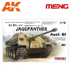 Sd.Kfz.173 JAGDPANTHER, German tank destroyer. Escala 1:35. Marca Meng. Ref: TS-039.