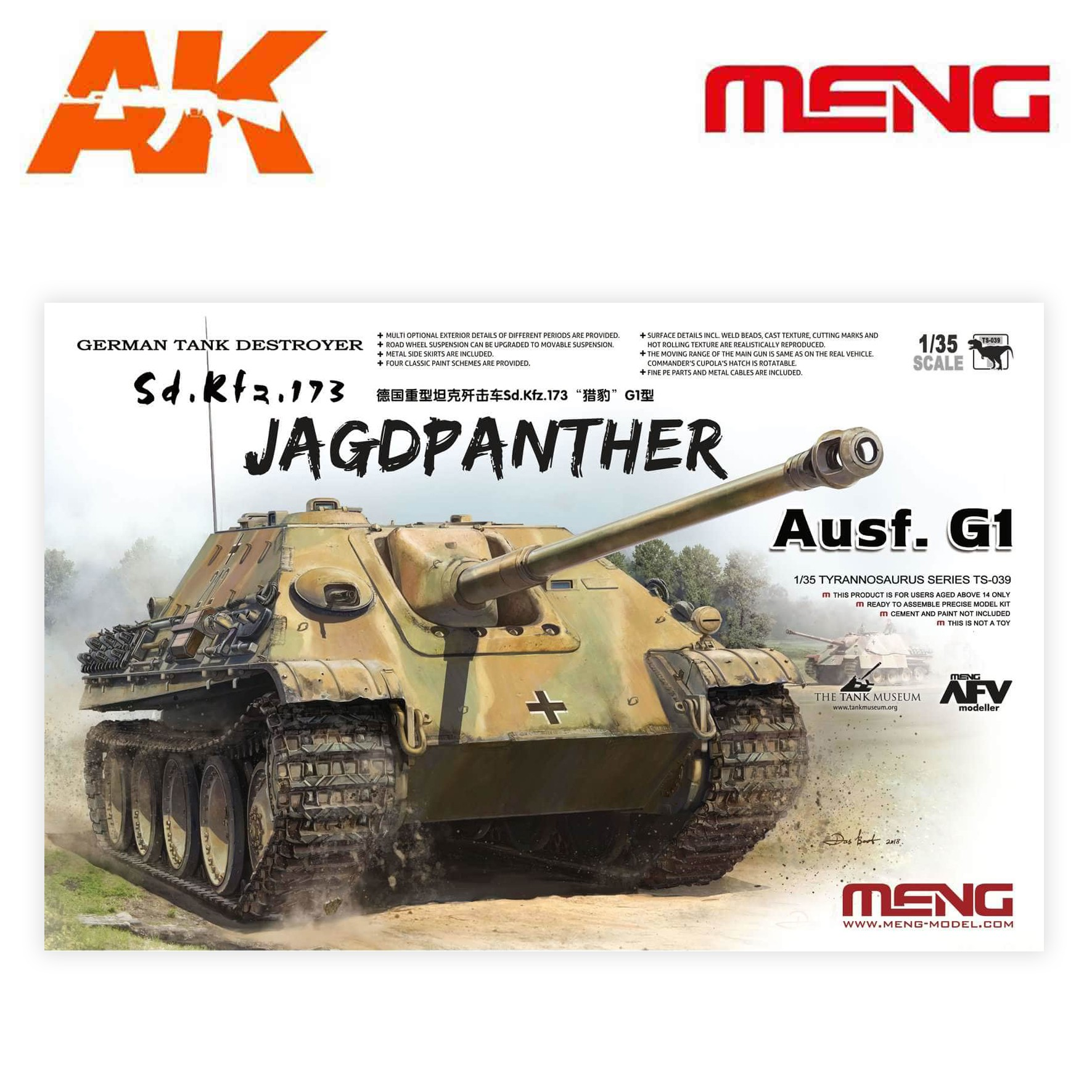 Bolt Action Warlord Games NEW Jagdpanther