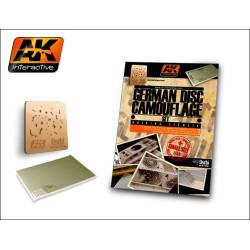 Set German camo disc ( sistema de enmacarar y parte fotograbada ) 1:48. Marca AK Interactive. Ref: AK158.