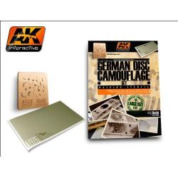 Set German camo disc ( sistema de enmacarar y parte fotograbada ) 1:35. Marca AK Interactive. Ref: AK157.