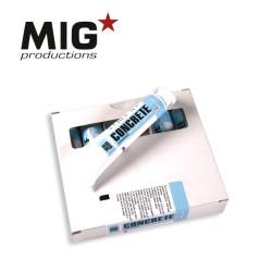 Concrete paste, Pasta de hormigón. Aged Blue. Cantidad 20 ml. Marca Mig productions. Ref: P510.