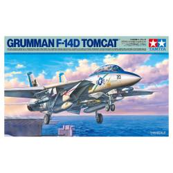 Avión Grumman F-14D Tomcat. Escala 1:48. Marca Tamiya. Ref: 61118.