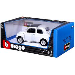 Fiat 500F, 1965. Escala 1:18. Marca Burago. Ref: 12020.