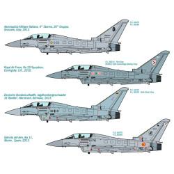 EF 2000 Typhoon IIB. Escala 1:72. Marca Italeri. Ref: 1340.