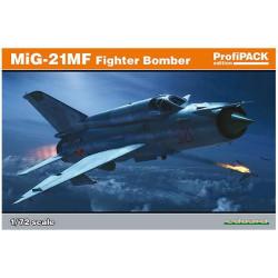 Mig-21MF interceptor. Serie profipack. Escala 1:72. Marca Eduard. Ref: 70141.
