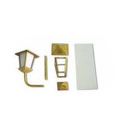 Fanal de popa cuadrado 24 mm, (1 Unid.). Marca Constructo. Ref: 80095.