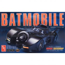 Coche Batmobile 1989. Escala 1:25. Marca Amt. Ref: AMT935/12.