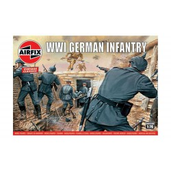 German infantry WWI. Escala 1:76. Marca Airfix. Ref: A00726V.