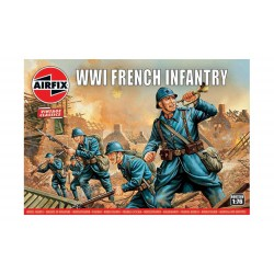 French infantry WWI. Escala 1:76. Marca Airfix. Ref: A00728V.