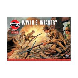 U.S. infantry WWI. Escala 1:76. Marca Airfix. Ref: A00729V.