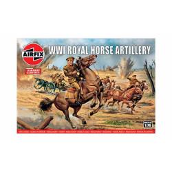 Royal horse artillery WWI. Escala 1:76. Marca Airfix. Ref: A00731V.