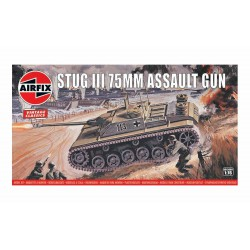 Stug III 75 mm Assault gun. Escala 1:76. Marca Airfix. Ref: A01306V.