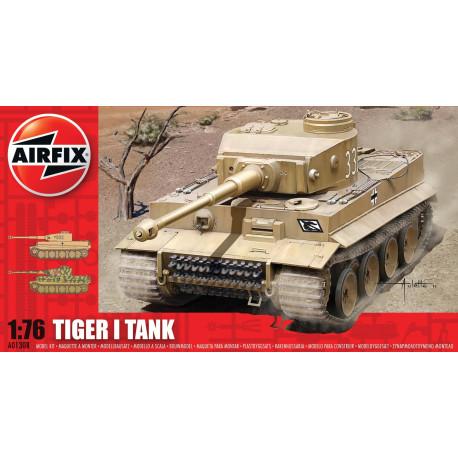 Tank Tiger I. Escala 1:76. Marca Airfix. Ref: A01308.