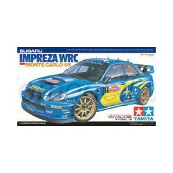 Coche Subaru Impreza WRC Monte carlo ´05. Escala 1:24. MarcaTamiya. Ref: 24281.