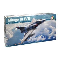 Mirage III E/R, calcas españolas. Escala 1:32. Marca Italeri. Ref: 2510.