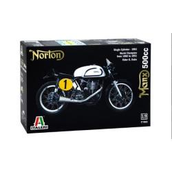 Moto Norton, Manx 500cc (1951). Escala 1:9. Marca Italeri. Ref: 4602.