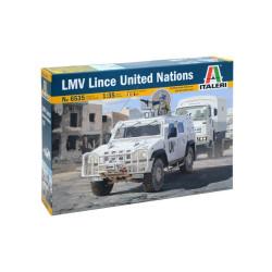 Vehículo LMV Lince United Nations. Escala 1:35. Marca Italeri. Ref: 6535.