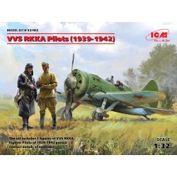 VVS RKKA pilotos (1939-1942). Escala 1:32. Marca ICM. Ref: 32102.