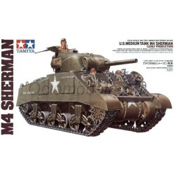 U.S. M. Tank M4 Sherman Early P. Escala 1:35. Marca Tamiya. Ref: 35190.